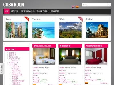 Cuba-Room: Web de Hospedajes privados