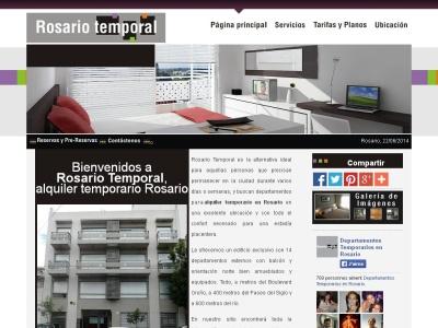 Departamentos temporarios en Rosario