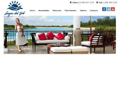 Desarrollo Residencial y bienes inmuebles en Cancún, Lagos del sol