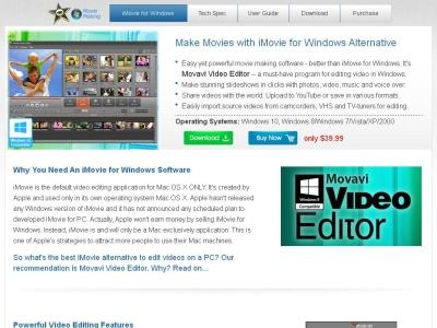 Descargar iMovie para PC Equivalente Ahora