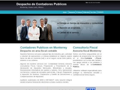 Despachos de Contadores Publicos Monterrey, Asesoria Fiscal Contable en Mexico