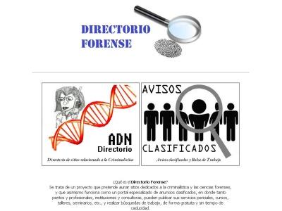 Directorio Forense