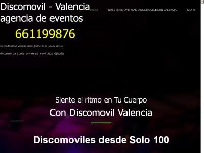 Discomovil para Bodas en Valencia Solo 100€