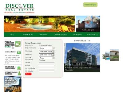 discover real estate - bienes raices en nicaragua