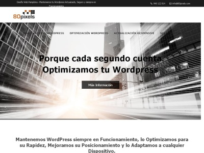 Diseño y mantenimiento de Páginas Web con WordPress