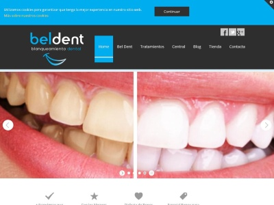 Distribuidor de productos de blanqueamiento dental