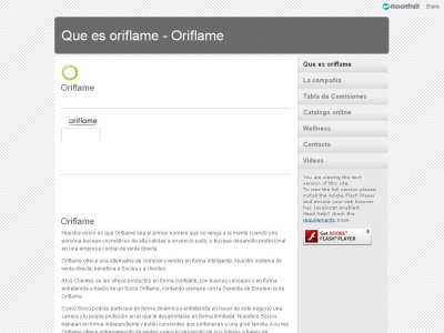 Distribuidores Oriflame