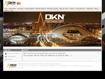 DKN Technology: Tecnolog�as deportivas.