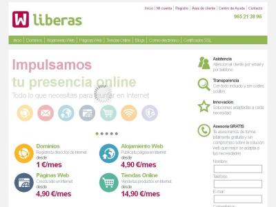 Dominios, Alojamiento Web y Tiendas Online