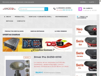 Ds18 Car Audio, Autodesign importadores