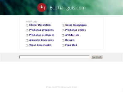 Ecotianguis en Guadalajara Mexico productos Organicos, Biodegradables, Ecotecnia