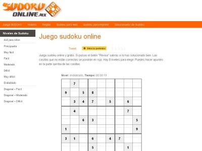El juego sudou grátis – sudokuonline.mx