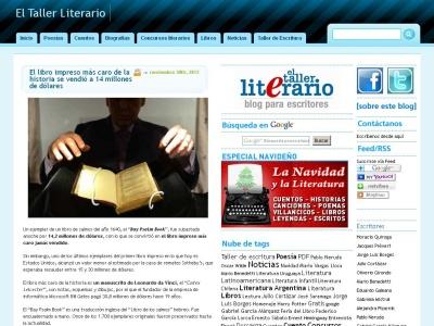 El Taller Literario - Blog para escritores