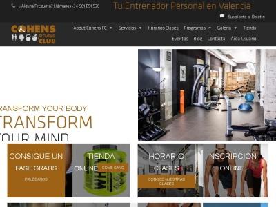 Entrenador Personal Valencia - Cohens Fitness Club