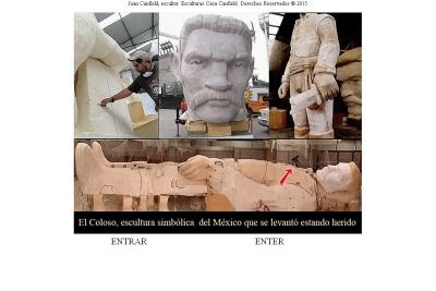 Escultor Juan Carlos Canfield. Sculptor