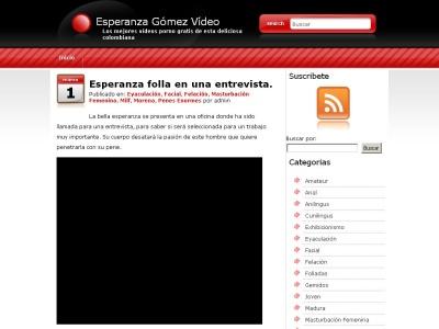 Esperanza Gómez en Vídeo