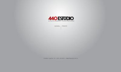 Estudio de grabacion 440