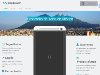 Estudio WAM - Desarrollo de apps móviles