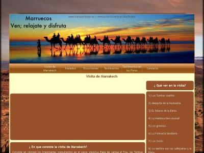 Excursión por el palmeral de Marrakech