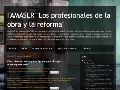 FAMASER CONSTRUCCIONES Y REFORMAS \