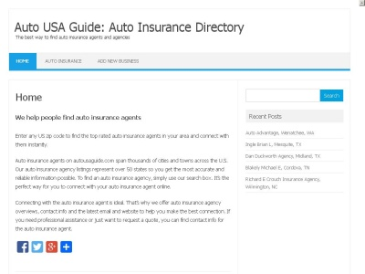 Find Auto Insurance Agents
