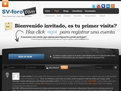 Foro El Salvador sv-foro.com:Comunidad El Salvador
