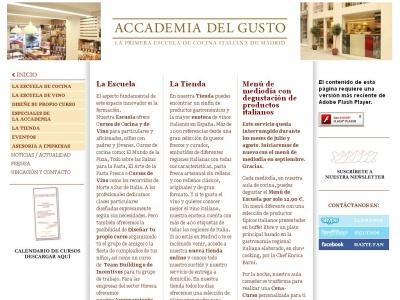 Gastronomia en Madrid - Accademia del Gusto