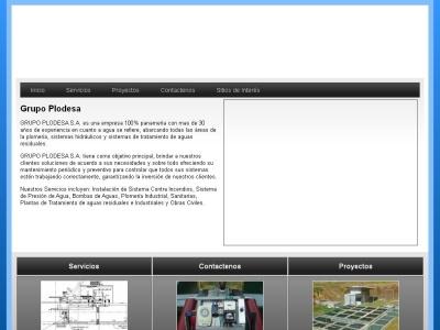 Grupo Plodesa - Plantas de Tratamiento de Aguas