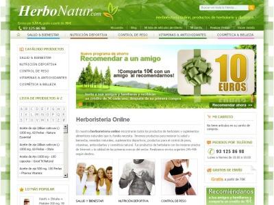 herboristeria online www.herbonatur.com