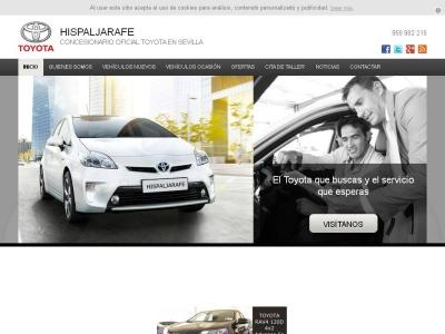 Hispaljarafe, Concesionario oficial de Toyota