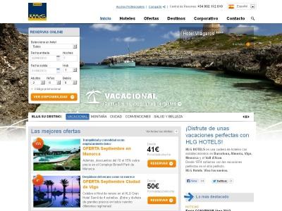 HLG Hotels en Barcelona, Almeria, Vigo, Menorca