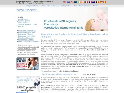 Home DNA Direct Pruebas de Paternidad