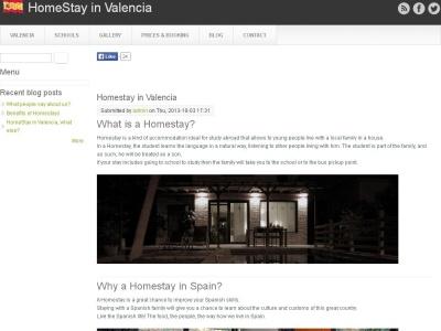 HomeStay en Valencia