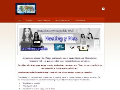 Hospedaje Web  Alojamiento Web  Hosting