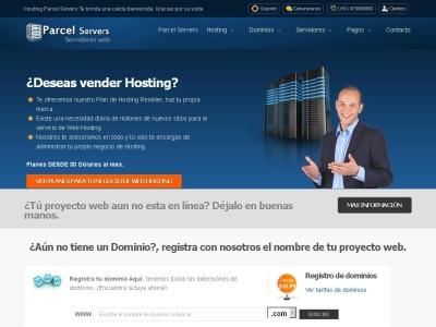 Hosting Parcel Servers