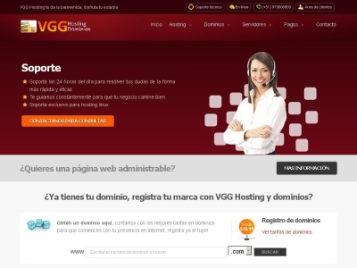 Hosting VGG Proveedor