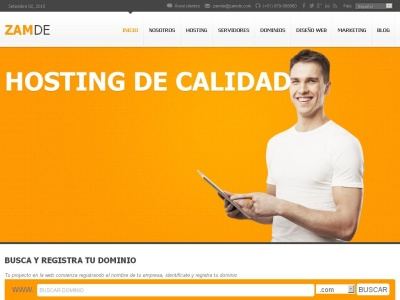Hosting Web Zamde