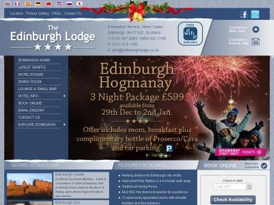 Hotel Edinburgh Lodge cerca de Haymarket Edimburgo