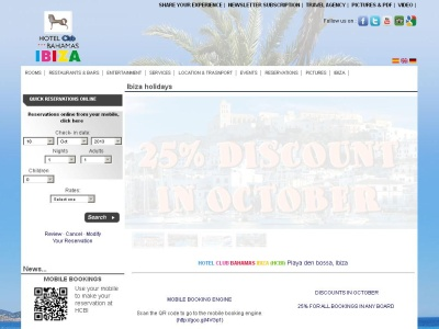 Hoteles en Ibiza