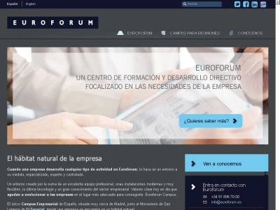 http://www.euroforum.es/