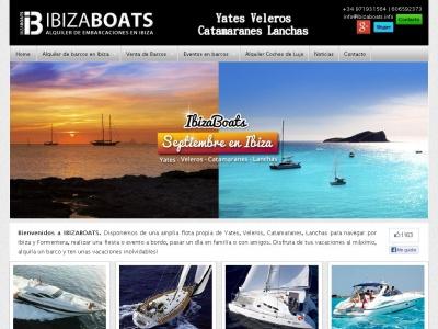 Ibiza-Boats. Alquiler de Barcos en Ibiza.