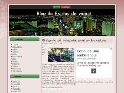 informaci�n estilos de vida - blog estilos de vida