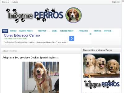 Informe perros