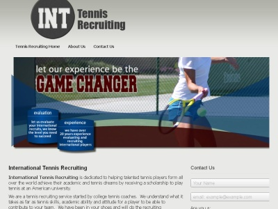 International Tennis Recruiting