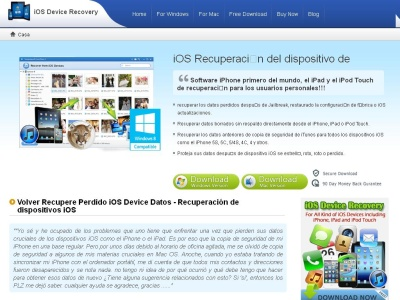 iOS Dispositivo Recuperaci�n