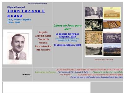 Juan Lacasa Lacasa. 1910 - 2004. Jaca, Pirineo Ara