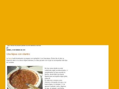 La llajwa, salsa picante boliviana