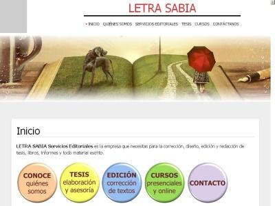 LETRA SABIA Servicios Editoriales
