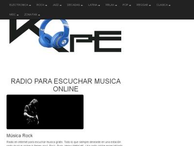 Música online en estaciones de radio