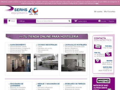 Maquinaria Hostelería online - Serhs Equipments